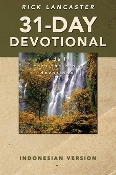 31-DAY DEVOTIONAL-INDONESIAN VERSION By Rick Lancaster